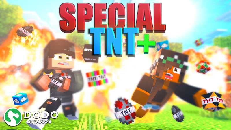 Special TNT on the Minecraft Marketplace by Dodo Studios