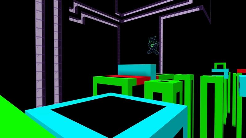 Neon City Parkour by Sandbox Network