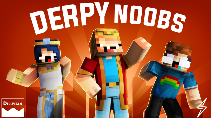 Derpy Noobs on the Minecraft Marketplace by Diluvian