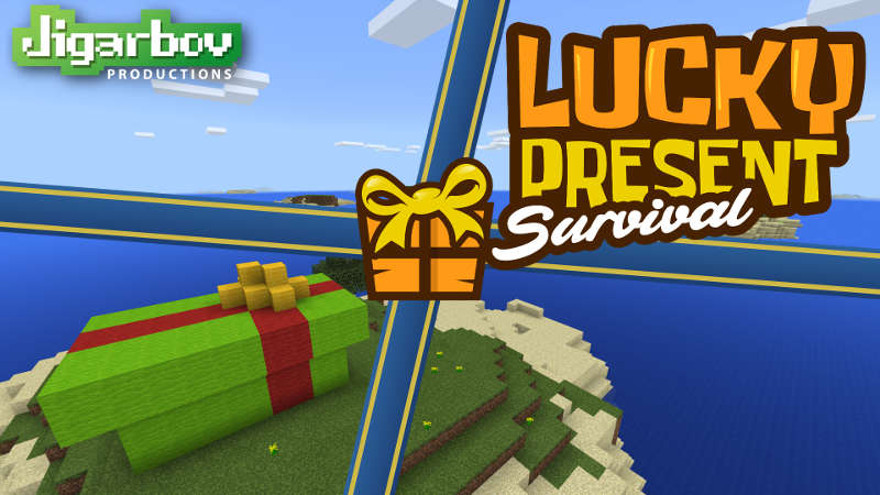 Lucky Present Survival on the Minecraft Marketplace by Jigarbov Productions