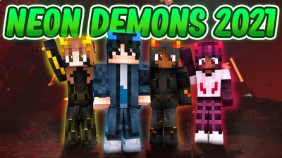 Neon Demons 2021 on the Minecraft Marketplace by Fall Studios