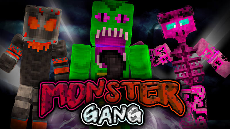 Monster Gang on the Minecraft Marketplace by BLOCKLAB Studios