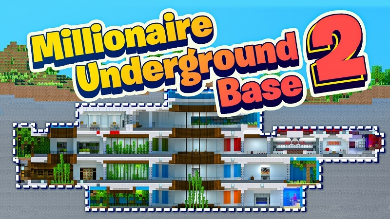 Millionaire Underground Base 2 on the Minecraft Marketplace by BBB Studios
