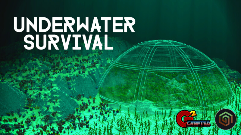 Underwater Survival on the Minecraft Marketplace by G2Crafted