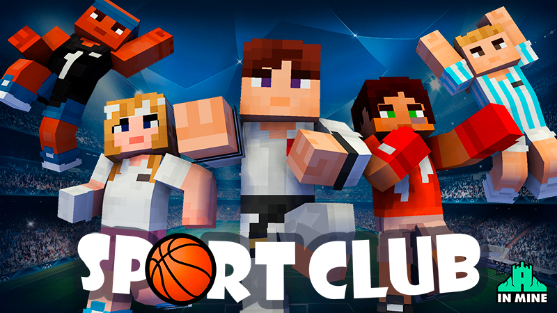 Sport Club on the Minecraft Marketplace by In Mine