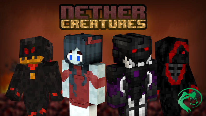 Nether Creatures on the Minecraft Marketplace by BLOCKLAB Studios