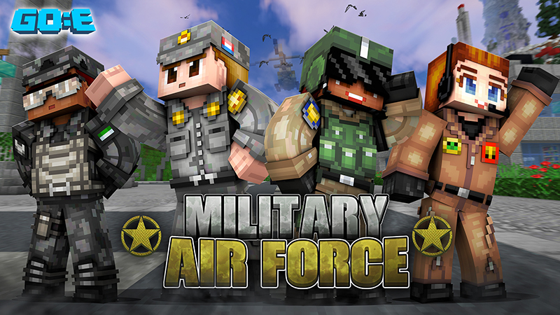 Military Air Force on the Minecraft Marketplace by GoE-Craft