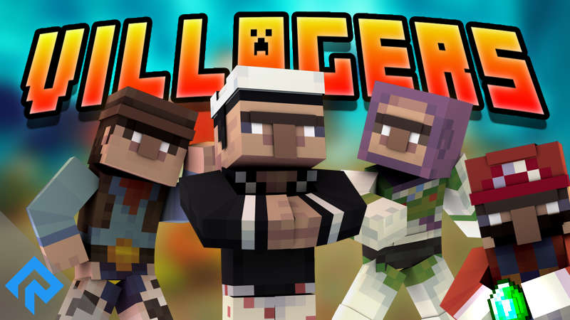 Villagers on the Minecraft Marketplace by RareLoot