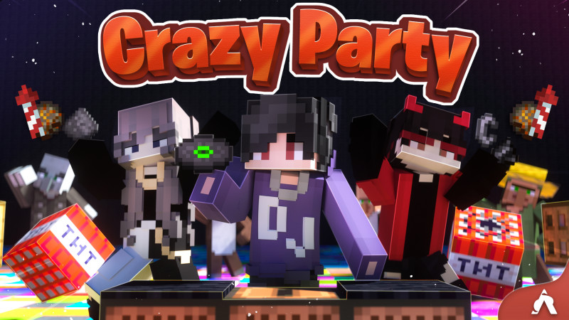 Crazy Party on the Minecraft Marketplace by Atheris Games