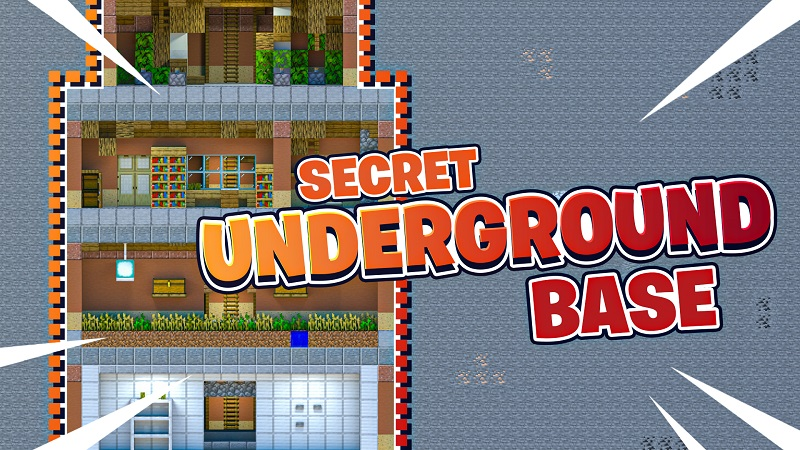 Secret Underground Base