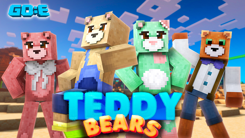 Teddy Bears on the Minecraft Marketplace by GoE-Craft