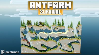 Antfarm Survival on the Minecraft Marketplace by Pixelusion