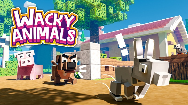 Wacky Animals on the Minecraft Marketplace by Nitric Concepts