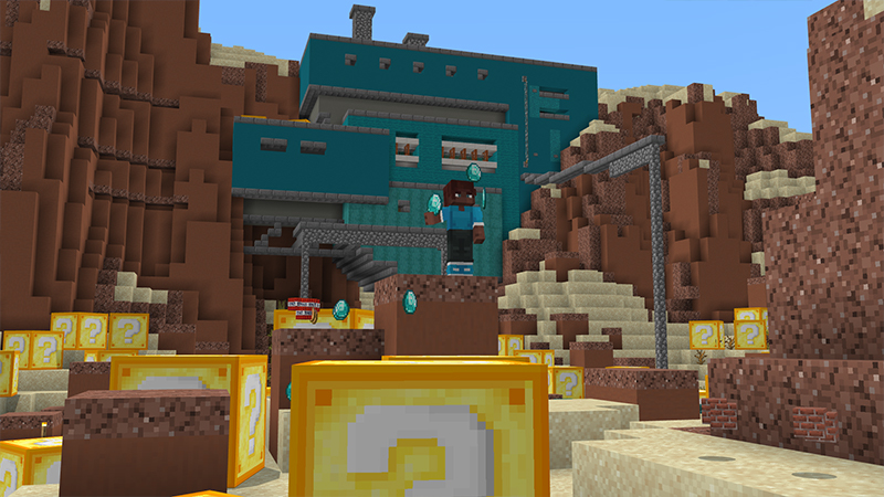 Giant Lucky Blocks by Cynosia