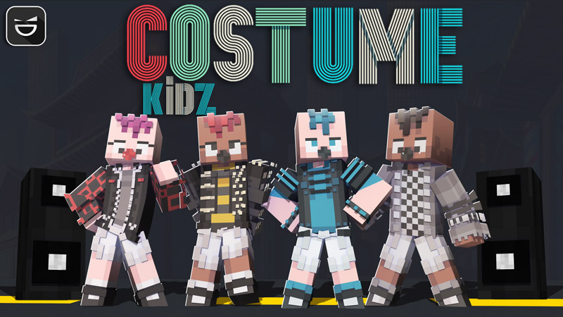 Costume Kidz on the Minecraft Marketplace by Giggle Block Studios