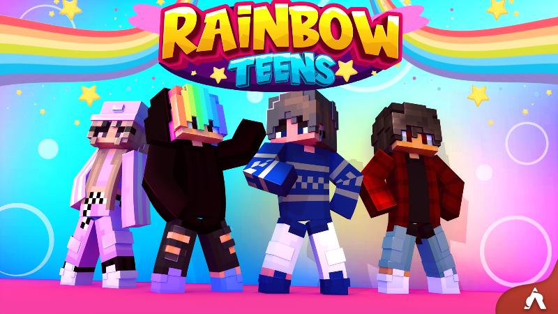 Rainbow Teens on the Minecraft Marketplace by Atheris Games