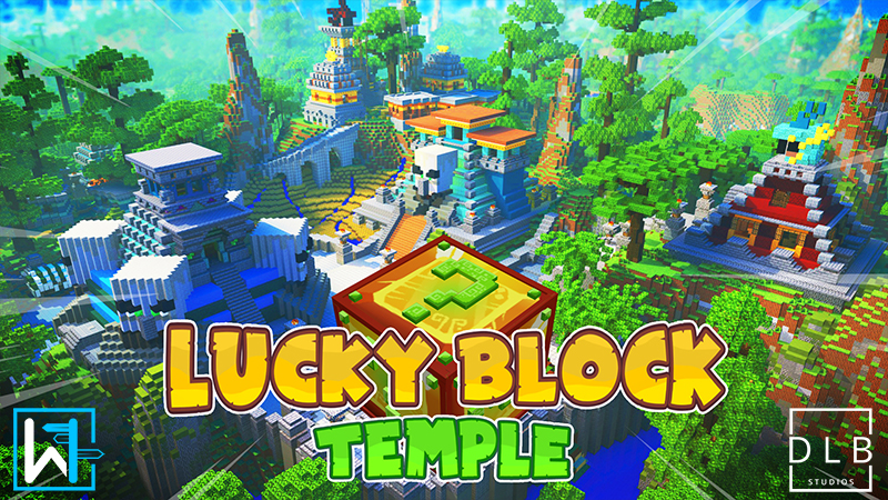 Lucky Block Temple on the Minecraft Marketplace by Waypoint Studios