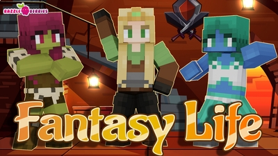 Fantasy Life on the Minecraft Marketplace by Razzleberries