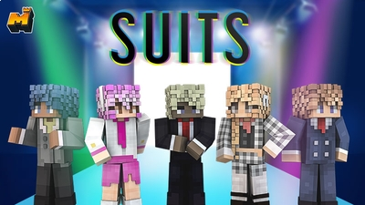 Suits on the Minecraft Marketplace by Mineplex