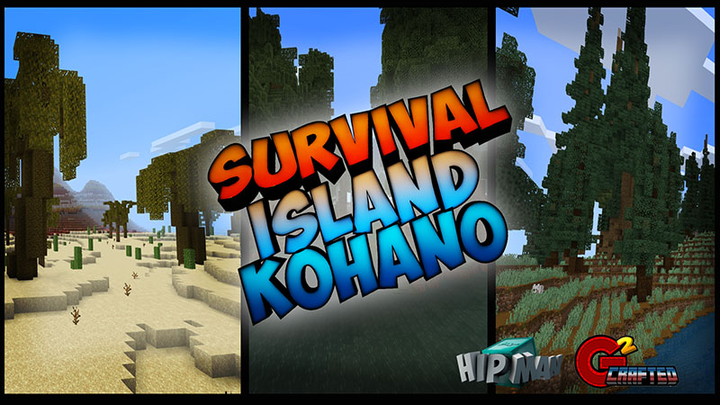 Survival Island Kohano on the Minecraft Marketplace by G2Crafted