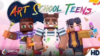 Art School Teens on the Minecraft Marketplace by Oreville Studios