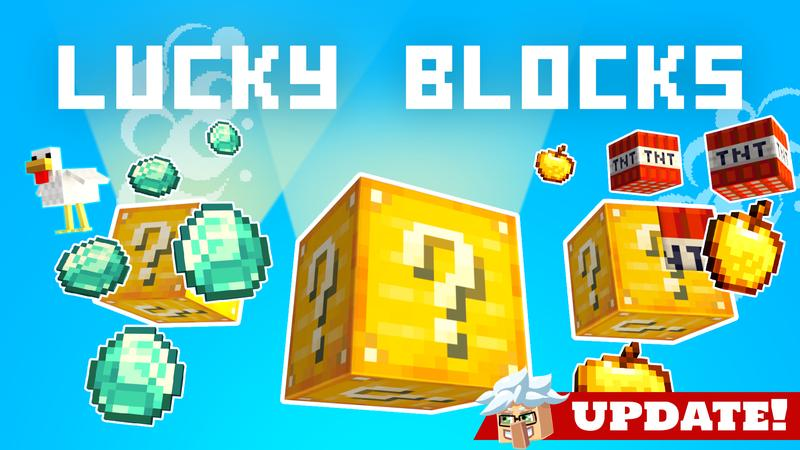 Lucky Blocks on the Minecraft Marketplace by Cubed Creations