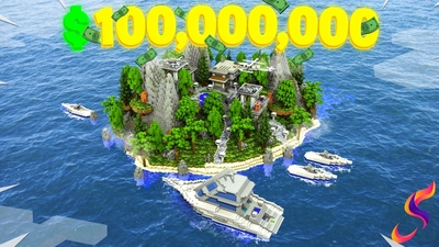 Millionaire Private Island on the Minecraft Marketplace by Fall Studios