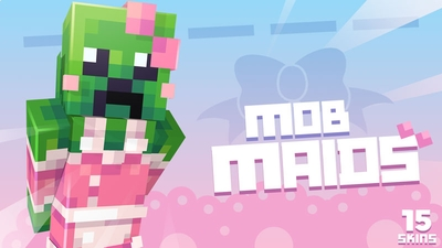 Mob Maids Skin Pack on the Minecraft Marketplace by Ninja Squirrel Gaming