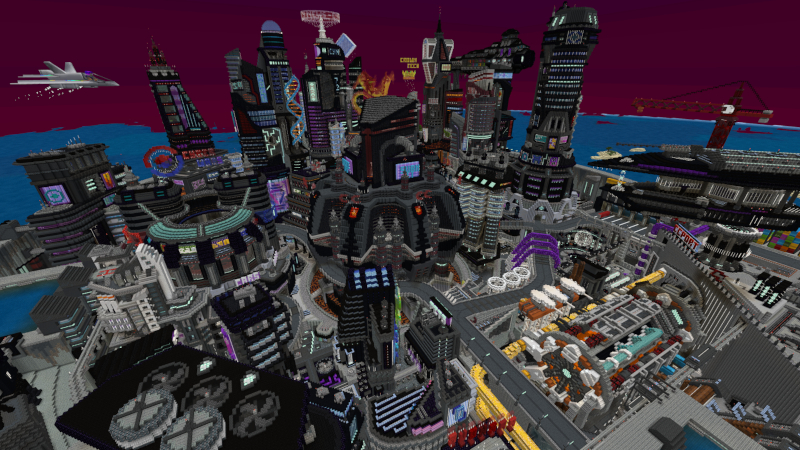 Cyber City by Cynosia