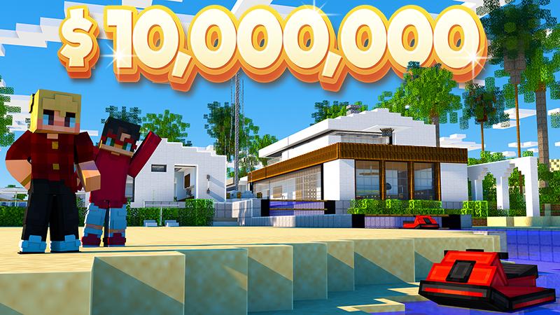 Millionaire Beach Mansion on the Minecraft Marketplace by 4KS Studios