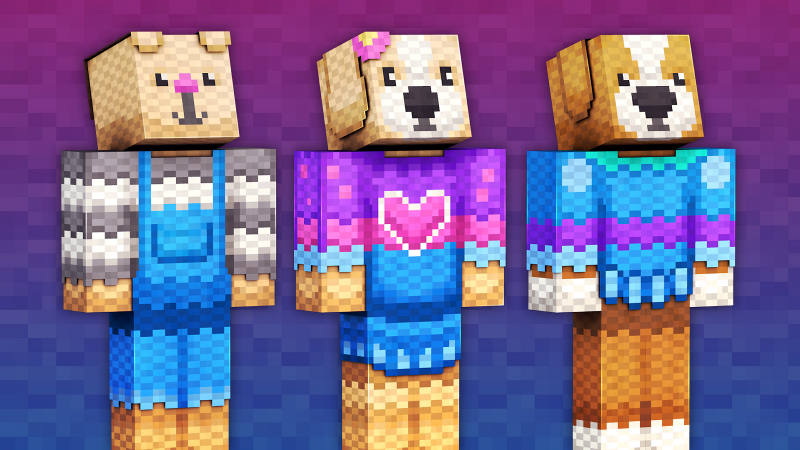 Knitted Pets on the Minecraft Marketplace by 57Digital