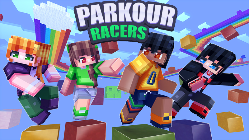 Parkour Racers on the Minecraft Marketplace by Dark Lab Creations