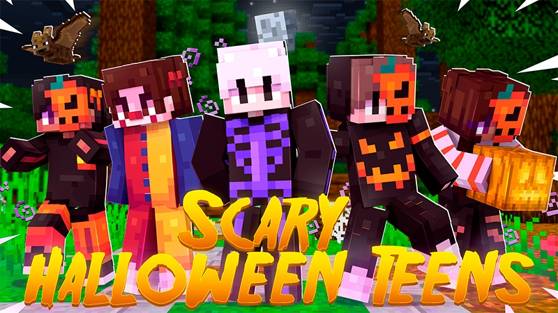 Scary Halloween Teens on the Minecraft Marketplace by Kubo Studios