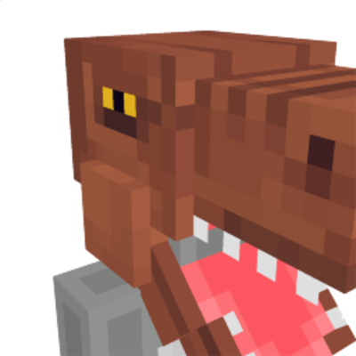 TRex Head on the Minecraft Marketplace by Polymaps