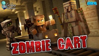 Zombie Cart Pharaohs Revenge on the Minecraft Marketplace by GoE-Craft