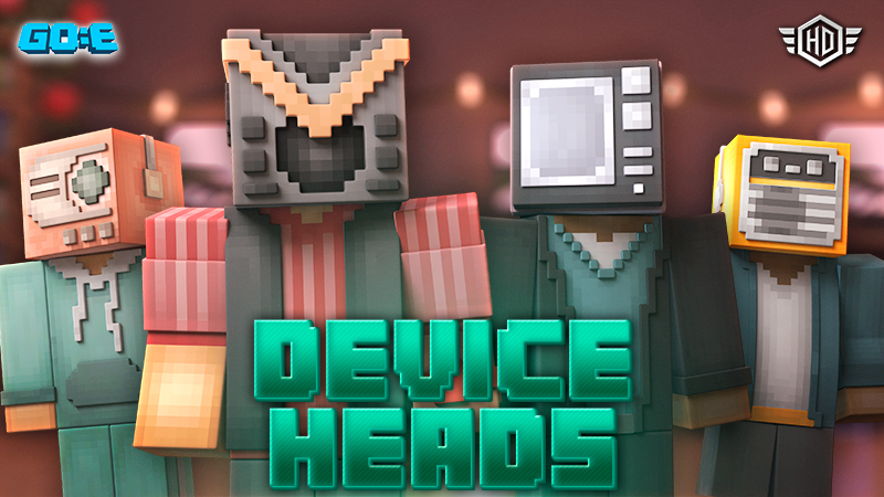 Device Heads on the Minecraft Marketplace by GoE-Craft