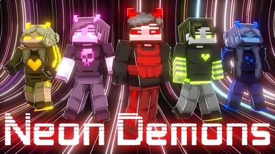 Neon Demons on the Minecraft Marketplace by Vertexcubed
