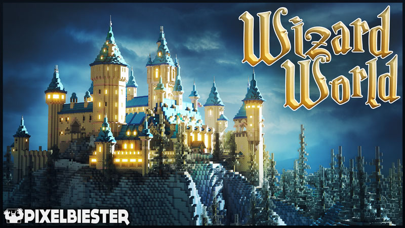 Wizard World on the Minecraft Marketplace by Pixelbiester