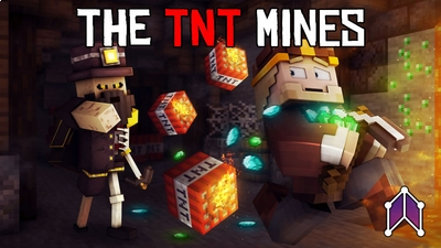 The TNT Mines on the Minecraft Marketplace by BLOCKLAB Studios