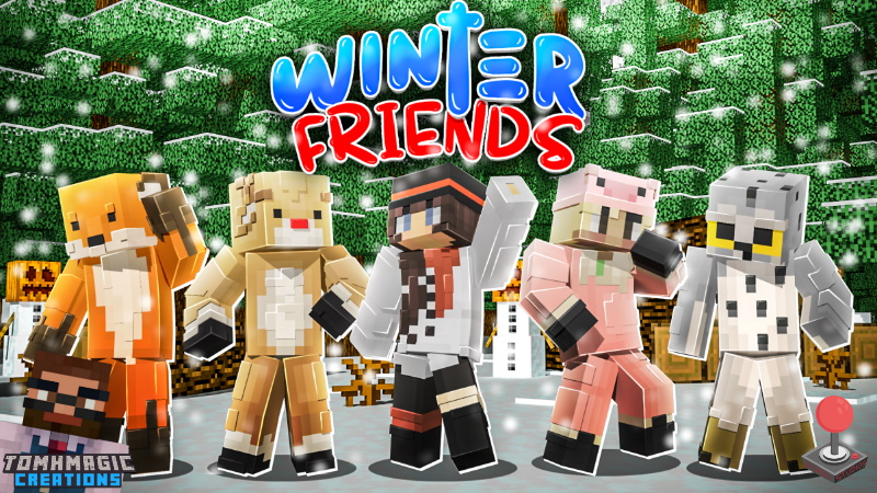 Winter Friends on the Minecraft Marketplace by Tomhmagic Creations