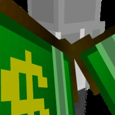 Money Wings on the Minecraft Marketplace by stonemasons
