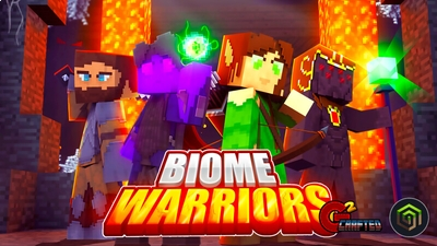 Biome Warriors on the Minecraft Marketplace by G2Crafted