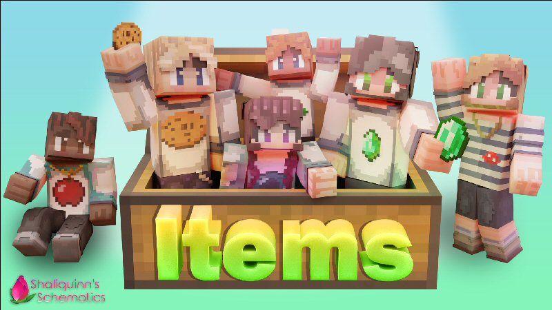 Items on the Minecraft Marketplace by Shaliquinn's Schematics