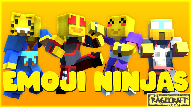 Emoji Ninjas on the Minecraft Marketplace by The Rage Craft Room