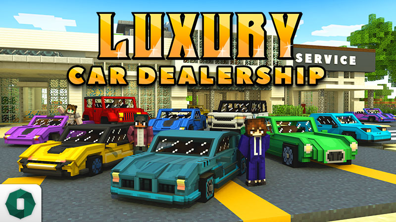 Luxury Car Dealership on the Minecraft Marketplace by Octovon