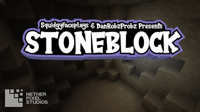 Stoneblock on the Minecraft Marketplace by Netherpixel