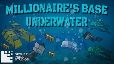 Millionaires Base Underwater on the Minecraft Marketplace by Netherpixel