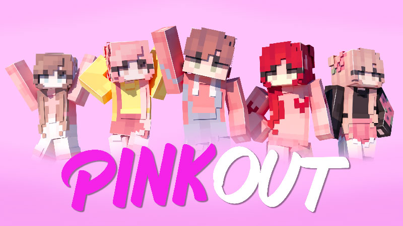 Pink Out on the Minecraft Marketplace by Waypoint Studios