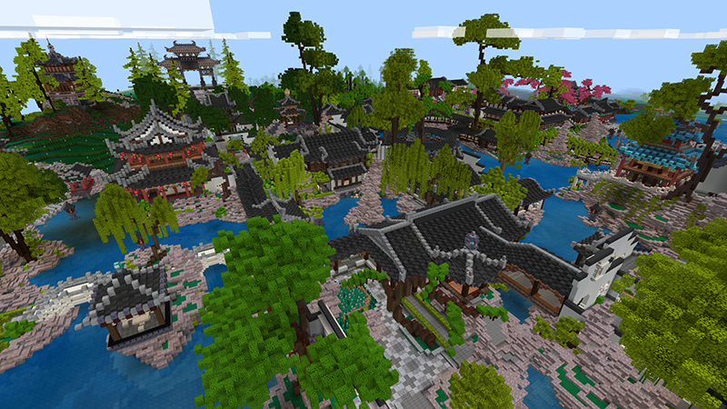 Chinese Garden Mash-up on the Minecraft Marketplace by LinsCraft