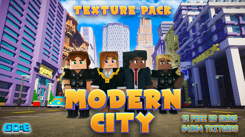 Modern City Texture Pack on the Minecraft Marketplace by GoE-Craft